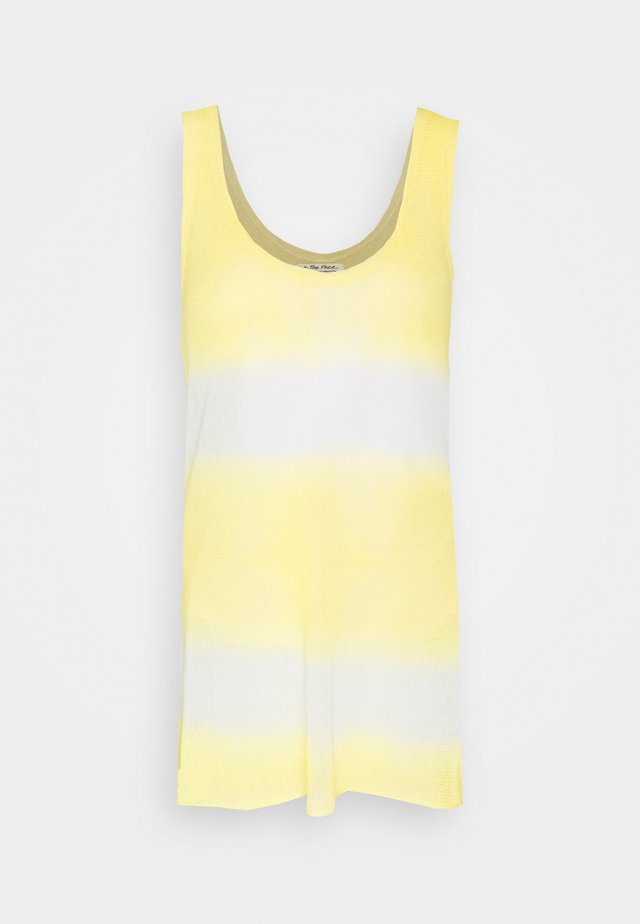 JONI MAXI TEE - Top - yellow