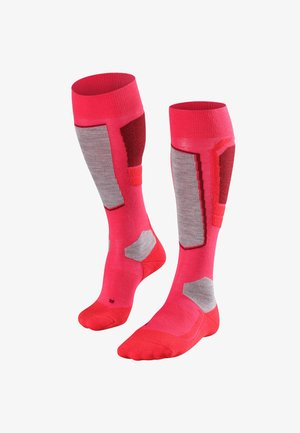 Knee high socks - rose