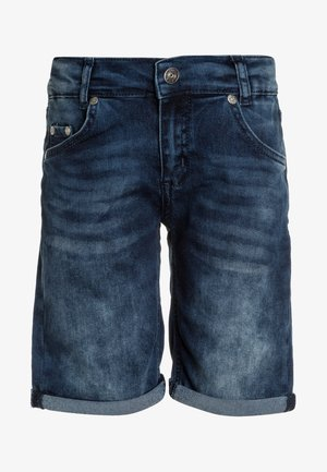 BOYS BASIC - Denim shorts - blue denim