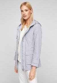 s.Oliver - MIT NETZ-FUTTER - Waterproof jacket - lilac - 3