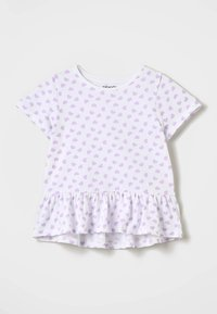 Zalando Essentials Kids - Camiseta estampada - lavendula/white - 0