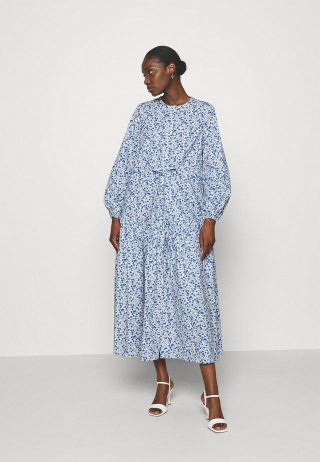 ORTENSIA - Robe longue - aquarelle