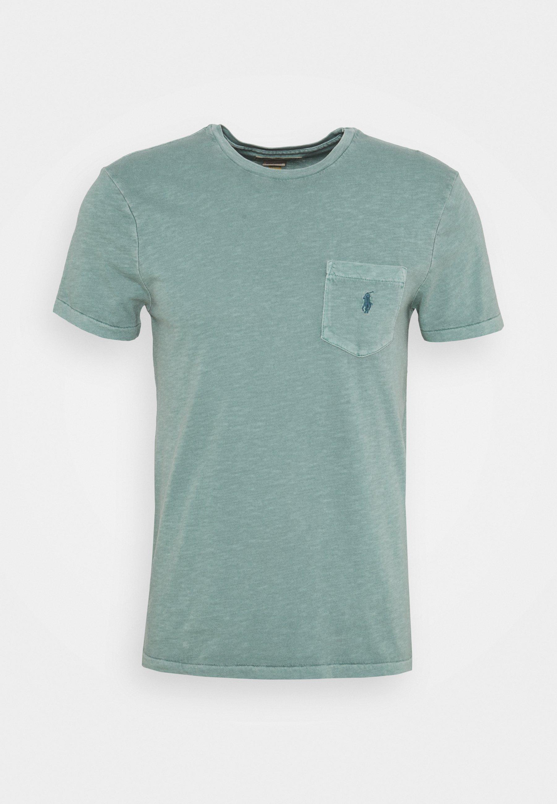Men CUSTOM SLIM FIT POCKET T-SHIRT - Basic T-shirt