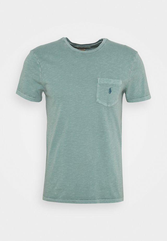 SLUB - T-shirt basique - seafoam