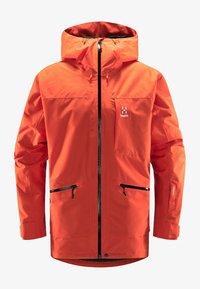 Haglöfs - LUMI INSULATED JACKET - Ski jacket - habanero - 4