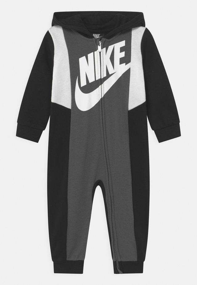 SPORTSWEAR HOODED FULL-ZIP  - Jumpsuit - black