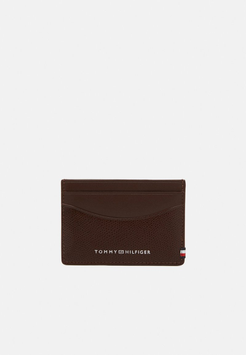 Tommy Hilfiger - BUSINESS MINI HOLDER UNISEX - Wallet - brown