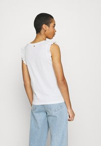 Fabienne Chapot - PHIL FRILL - Print T-shirt - cream white - 2