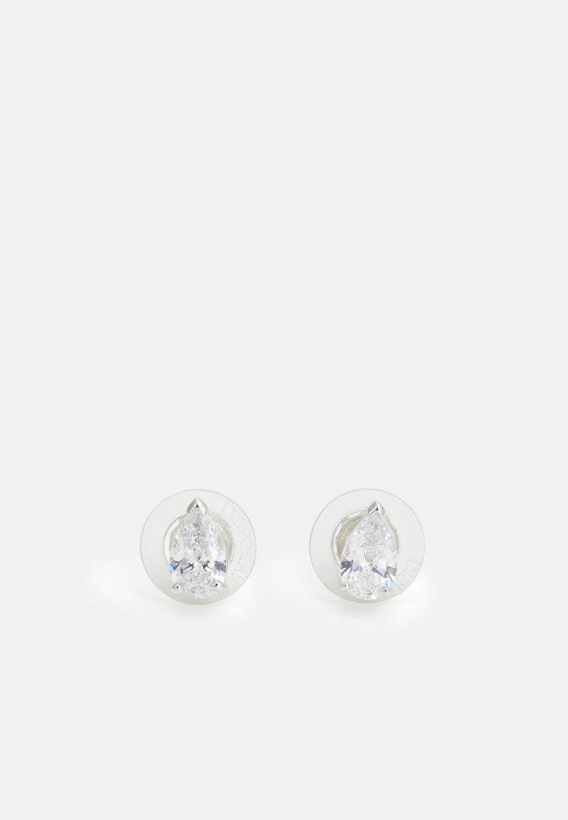 Swarovski - ATTRACT PEAR - Orecchini - silver-coloured