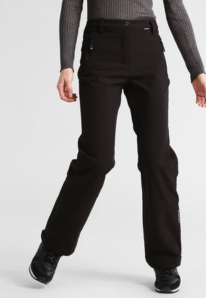 RIKSU - Pantalones montañeros largos - schwarz