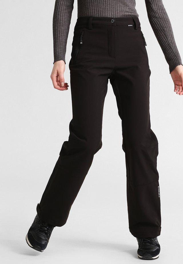 RIKSU - Pantaloni outdoor - schwarz