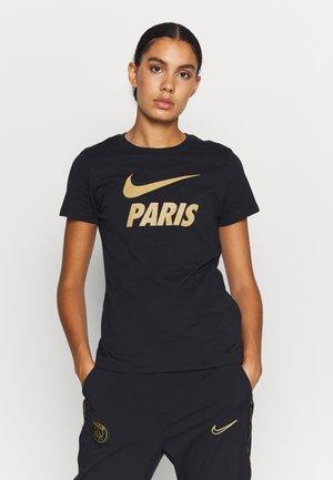 PARIS ST GERMAIN TEE GROUND - Club wear - black