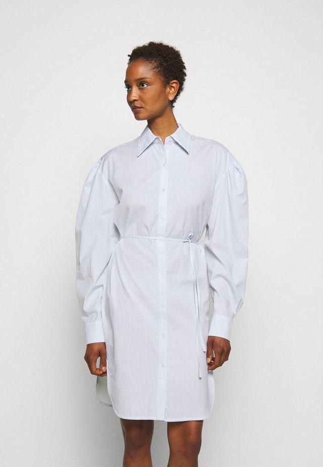 UMBRIA DRESS - Shirt dress - cream/blue