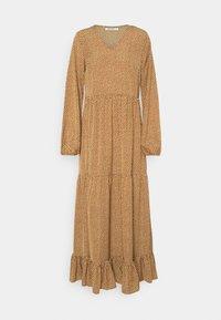 Glamorous Tall - TIERED DRESS - Maxi dress - rust cream - 0