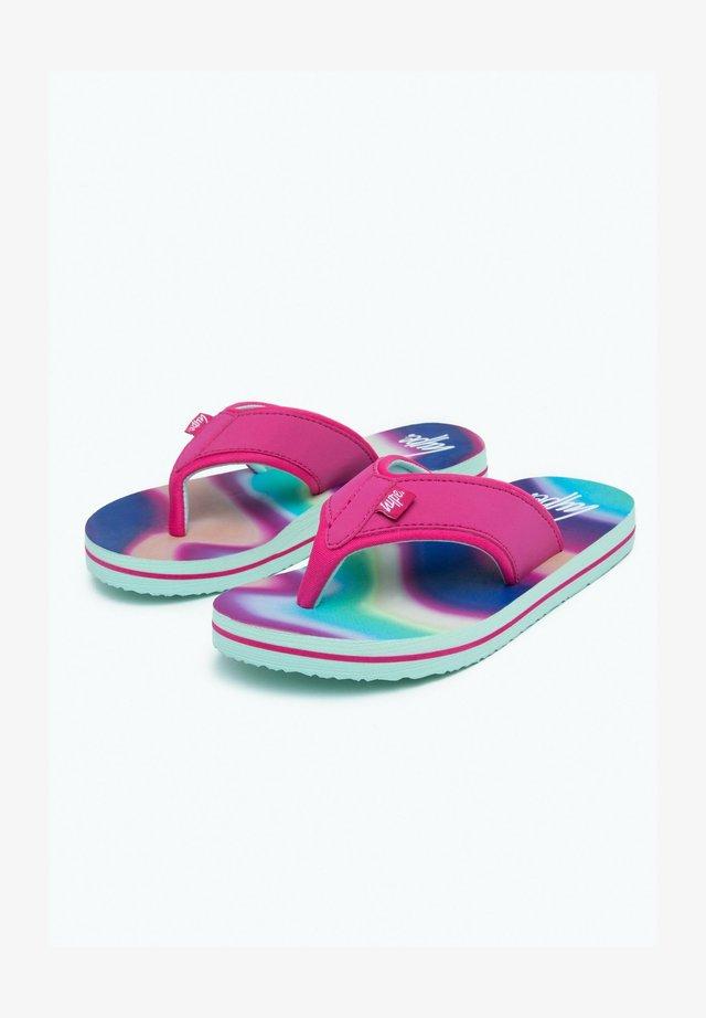 RAINBOW WAVE - Pool shoes - multi