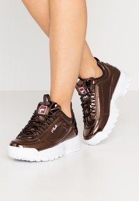 Fila - DISRUPTOR  - Trainers - chocolate brown - 0