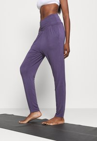 Deha - PANTS - Trainingsbroek - violet - 0
