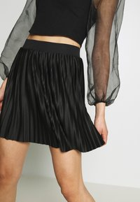 Even&Odd - A-line skirt - black - 3