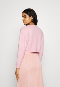 Fashion Union - EFFY CARDI - Cardigan - pink - 2
