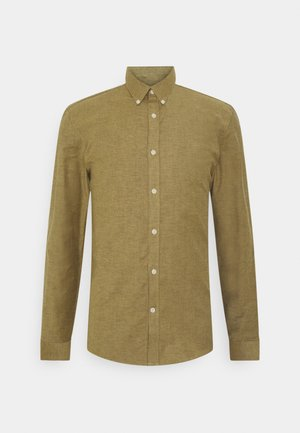 OXFORD SUPERFLEX SHIRT - Overhemd - dark camel