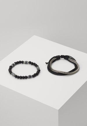ADHESION 2 PACK - Bracelet - black