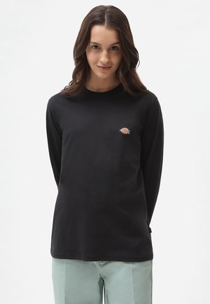 LS MAPLETON TEE W - Langærmede T-shirts - black