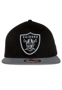 New Era - OAKLAND RAIDERS - Cap - grey/black - 2