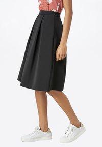 HALLHUBER - A-line skirt - black - 2