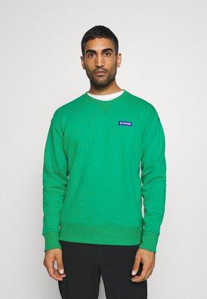 BUGA CREW - Felpa - emerald green/lapis blue