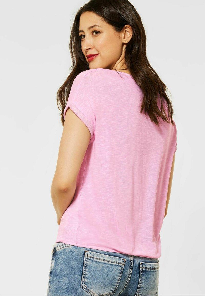 Street One - Print T-shirt - rosa