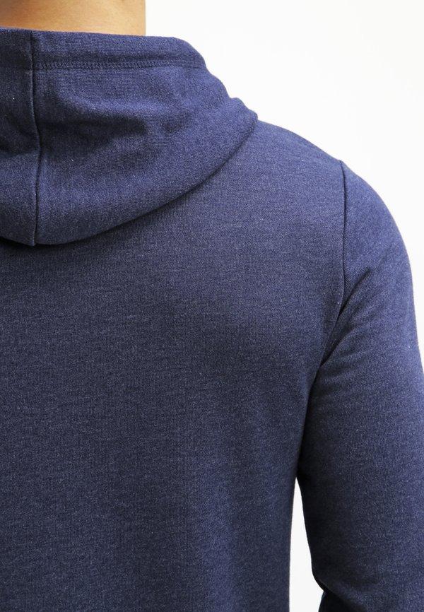 Pier One Bluza z kapturem - dark blue melange/granatowy melanż Odzież Męska LBLA