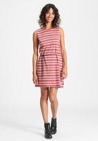 Forvert - KALIDA - Day dress - red/white - 1