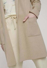 TOM TAILOR DENIM - Cardigan - creme beige melange - 3