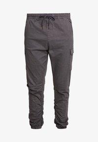 INDICODE JEANS - LAKELAND - Cargo trousers - dark grey - 4