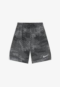Nike Performance - DRY SHORT - Krótkie spodenki sportowe - black/white - 2
