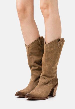 STONES - Cowboy/Biker boots - marvin stone