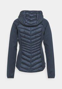 Barbour International - Zip-up sweatshirt - metallic blue - 1