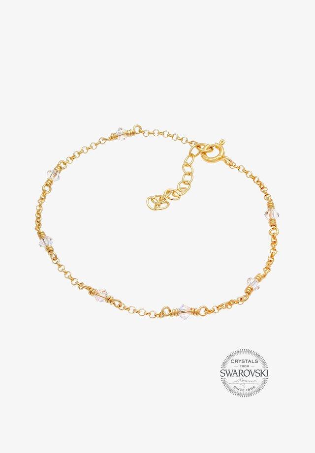 KRISTALL ARMBAND - Armband - gold