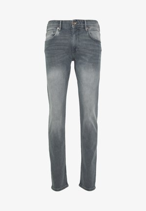 Slim fit jeans - grey light wash