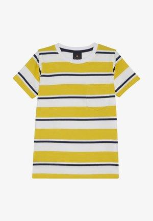 ODWIN - T-shirt con stampa - sulphur