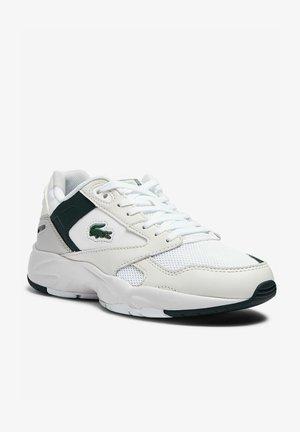 Multicourt tennis shoes - wht dk grn