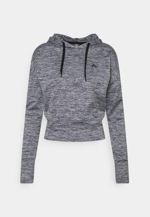 ONPMETEA SHORT HOOD - Camiseta de manga larga - medium grey melange