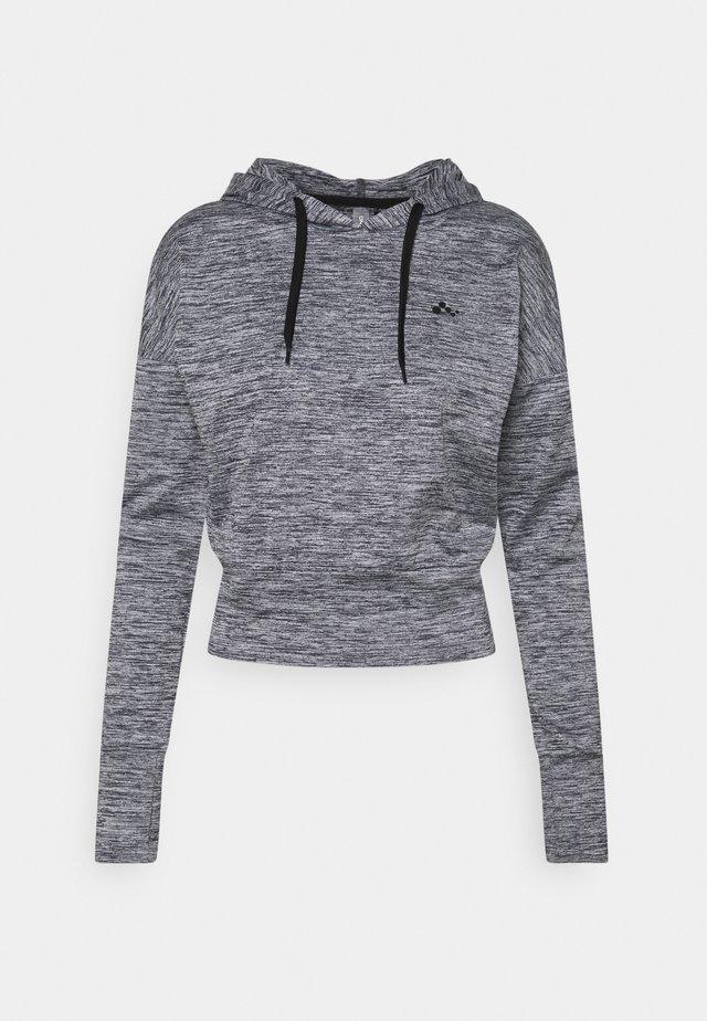 ONPMETEA SHORT HOOD - T-shirt à manches longues - medium grey melange