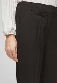 s.Oliver BLACK LABEL - Trousers - true black - 4