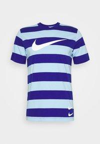 Nike Sportswear - STRIPE TEE - Print T-shirt - psychic blue/deep royal blue - 4