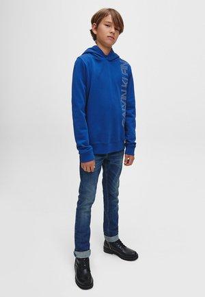 Hoodie - naval blue