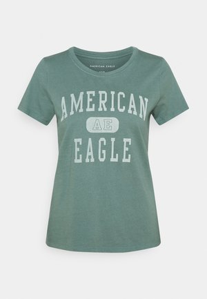 BRANDED CLASSIC TEES - T-shirts med print - green