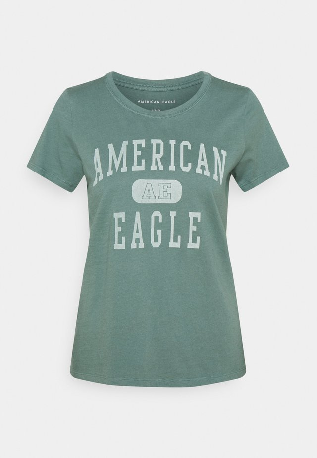 BRANDED CLASSIC TEES - T-shirt print - green