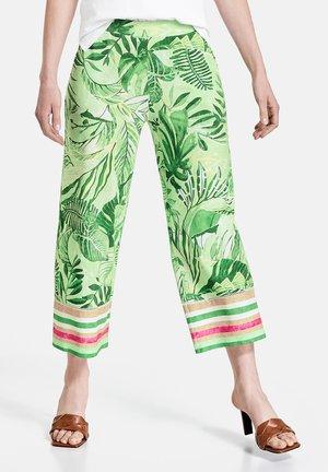 Trousers - grün druck