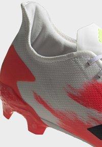 adidas Performance - PREDATOR 20.2 FG - Fotbollsskor fasta dobbar - ftwwht/cblack/pop - 6